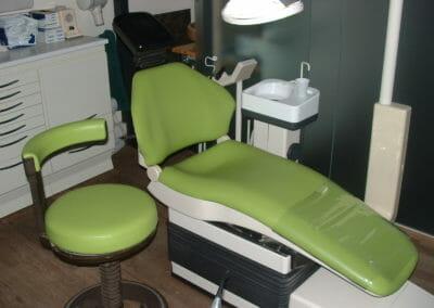 Habillage de fauteuil dentaire
