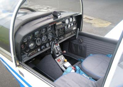 Intérieur Avion Robin