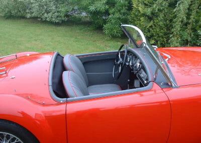 Intérieur MGA Roadster 1962
