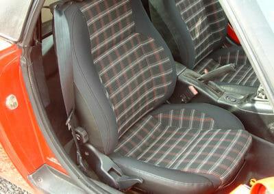 Intérieur de Fiat Barchetta