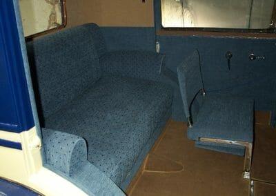 Intérieur Talbot M78 en velours