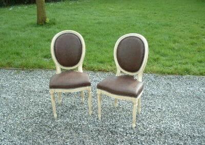 Recouvrement de chaises