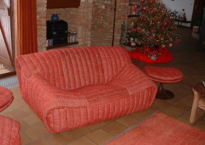 Recouvrement de fauteuil Cinna