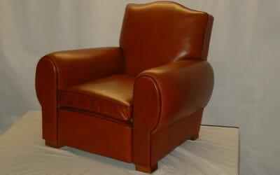 """Le fauteuil Club en cuir: une touche déco """"vintage"""" et élégante"""